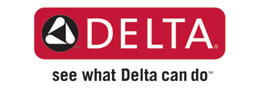 Delta Logo - Faucets for Kitchen and Bathrooms